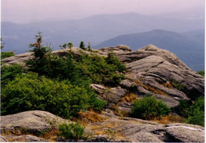 Top of Hunger Mountain